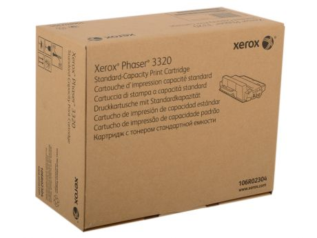 Картридж Xerox 106R02304 для Phaser 3320. Чёрный. 5000 страниц. Print-cartridge stand-cap for PH 3320