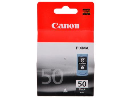 Картридж Canon PG-50 для PIXMA MP450/MP170/MP150/iP2200. Чёрный. 510 страниц.