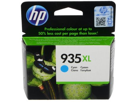 Картридж HP C2P24AE (№ 935XL) для МФУ HP Officejet Pro 6830 e-All-in-One(E3E02A), принтер HP Officejet Pro 6230 ePrinter E3E03A).  Голубой. 825 страни