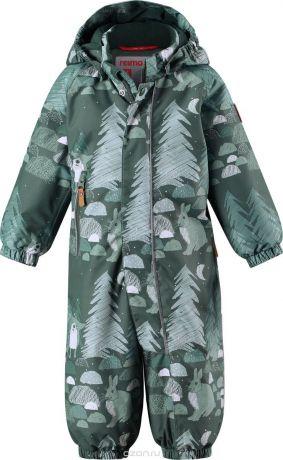 Купить Комбинезон утепленный детский Reima Reimatec Puhuri, цвет: зеленый. 5103068631. Размер 98 – цена 2990 руб. в интернет-магазине ozon.ru с отзывами и фото. Комбинезоны для мальчиков Reima