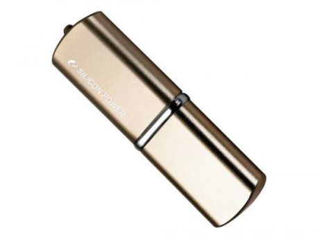 USB флешка Silicon Power Luxmini 720 64GB Gold (SP064GBUF2720V1Z) USB 2.0 / 15 МБ/cек / 7 МБ/cек