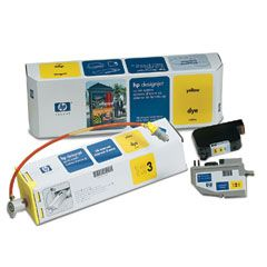 Картридж HP DesignJet CP Ink System Yellow (C1809A)