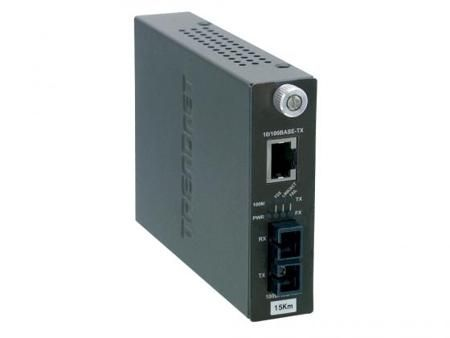 Медиаконвертер TRENDnet TFC-110S15i 100Base-FX SC до 15км Ethernet 100Base-TX
