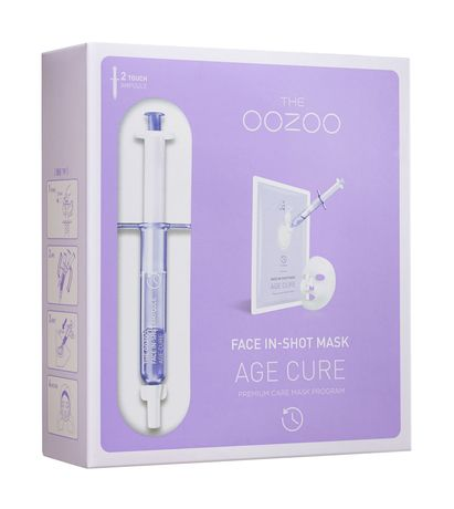 The Oozoo Face in-Shot Age Cure Mask Set