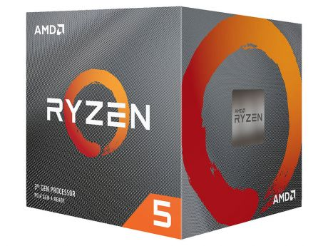 Процессор AMD Ryzen 5 3600X BOX Wraith Spire cooler (95W, 6C/12T, 4.4Gh(Max), 36MB(L2+L3), AM4) (100-100000022BOX)