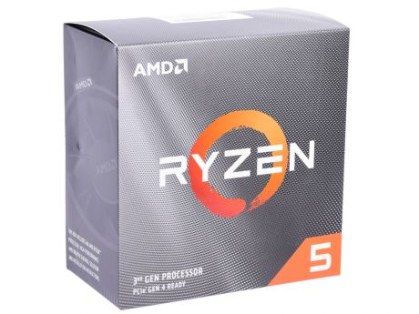 Процессор AMD Ryzen 5 3600 BOX Wraith Stealth cooler (65W, 6C/12T, 4.2Gh(Max), 36MB(L2+L3), AM4) (100-100000031BOX)