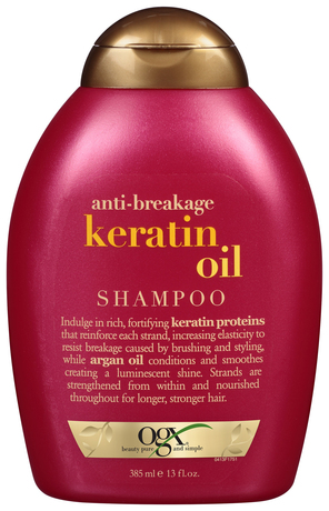 Шампунь OGX Anti-Breakage Keratin Oil 385 мл