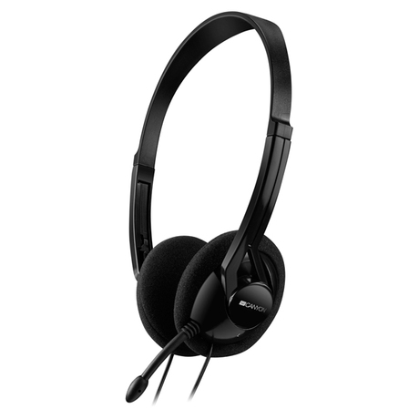 Гарнитура для компьютера Canyon Stereo PC Headset CNE-CHS01B Black