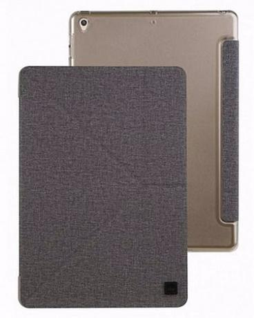 Чехол Uniq Yorker Kanvas (NPDAGAR-KNVPGRY) для iPad 10,5 Pro/iPad Air 2019 (Grey)
