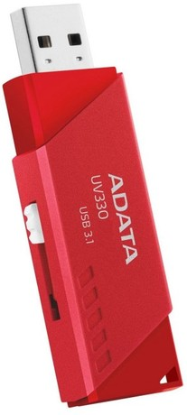USB-флешка 32GB A-DATA UV330 USB 3.1 Red