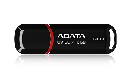 USB-флешка A-DATA UV150 Black 16GB (AUV150-16G-RBK)