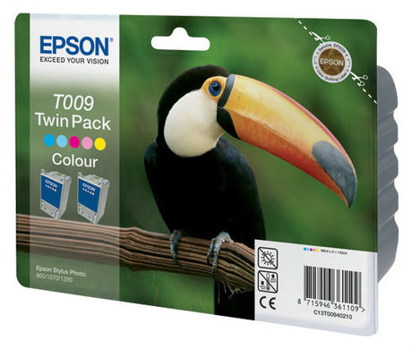 Картридж Epson T009402 для Epson St.Photo 900/1270/1290 Color 2-pack