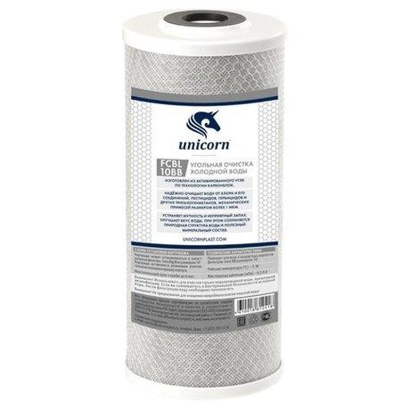 Купить Unicorn FCBLBB10 Картридж из спеченного в блок активированного угля, 1 шт. – цена 660 руб. в интернет-магазине beru.ru с отзывами и фото. Картриджи и сменные элементы для фильтров unicorn