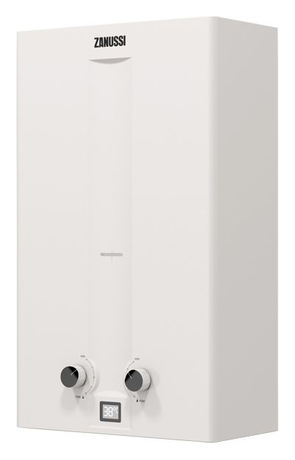 Газовая колонка Zanussi GWH 10 Fonte Turbo white