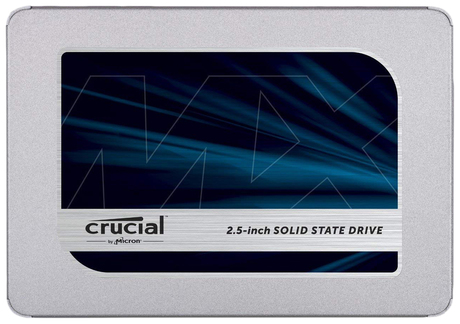 Внутренний SSD диск Crucial MX500 500GB (CT500MX500SSD1N)