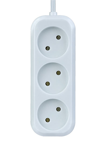 Сетевой фильтр Perfeo Power P16-012 3 Sockets 1.5m White PF_B4061