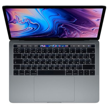 Ноутбук Apple MacBook Pro 13 with Retina display and Touch Bar Mid 2019 (Intel Core i5 2400 MHz/13.3