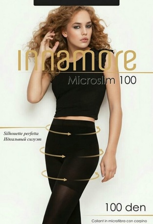 """Купить Колготки Innamore """"Microslim 100"""" nero – цена 499 руб. в интернет-магазине goods.ru с отзывами и фото. Колготки Innamore"""