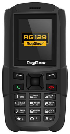 Купить Мобильный телефон RugGear RG129 Black – цена 1690 руб. в интернет-магазине sbermegamarket.ru с отзывами и фото. Мобильные телефоны RugGear