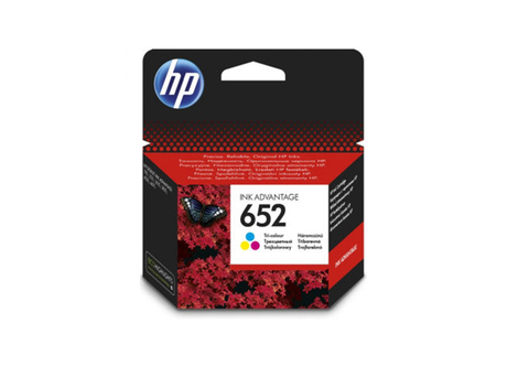 Картридж HP 652 Tri-colour Ink Cartridge (F6V24AE)