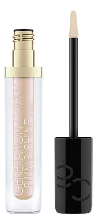 Блеск для губ Generation Plump & Shine Lip Gloss 4,3мл: 090 Golden Zircon