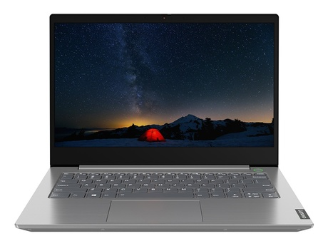 Ноутбук Lenovo ThinkBook 14-IIL Mineral Grey 20SL002TRU (Intel Core i3-1005G1 1.2 GHz/4096Mb/256Gb SSD/Intel HD Graphics/Wi-Fi/Bluetooth/Cam/14.0/1920x1080/DOS)