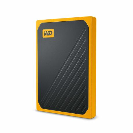 Внешний SSD диск Western Digital My Passport Go Yellow (WDBMCG0010BYT)