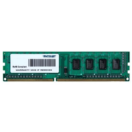 Оперативная память Patriot Memory Signature DDR3 1600 (PC 12800) DIMM 240 pin, 2 ГБ 1 шт. 1.5 В, CL 11, PSD32G160081