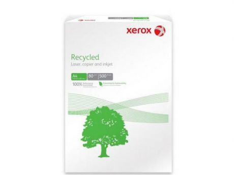 Бумага Xerox Recycled Plus А4 80 г/кв.м 500л 003R91912