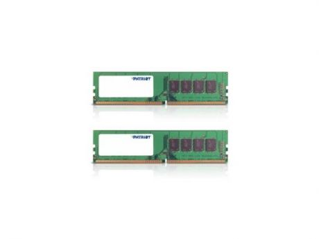 Оперативная память 16Gb (2x8Gb) PC4-19200 2400MHz DDR4 DIMM Patriot PSD416G2400K