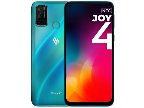 Купить Сотовый телефон Vsmart Joy 4 4/64GB Turquoise – цена 9488 руб. в интернет-магазине pleer.ru с отзывами и фото. Сотовые / мобильные телефоны, смартфоны Vsmart