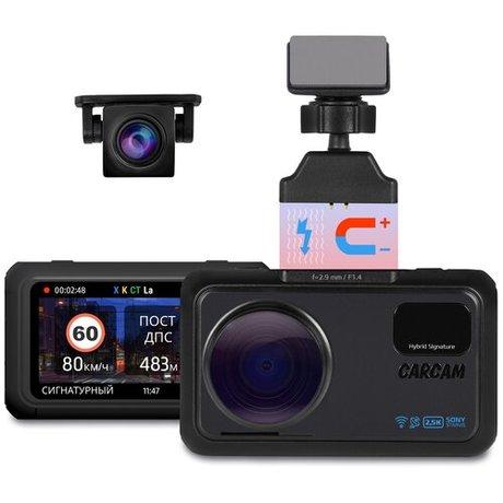 Купить Автомобильный видеорегистратор с радар-детектором CARCAM HYBRID 3s Signature – цена 14990 руб. в интернет-магазине pokupki.market.yandex.ru с отзывами и фото. Видеорегистраторы CARCAM