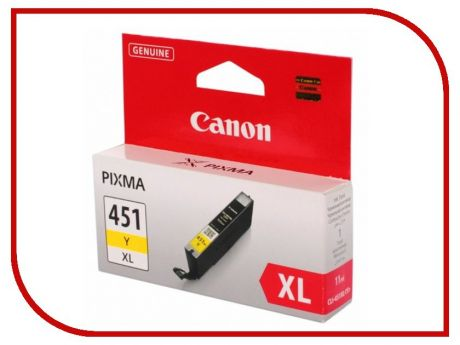 Картридж Canon CLI-451Y XL Yellow 6475b001