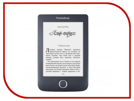 Электронная книга PocketBook 614 Plus Black PB614-2-E-RU