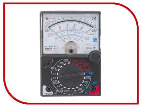 Купить Мультиметр Sinometer YX360TReb – цена 384 руб. в интернет-магазине pleer.ru с отзывами и фото. Мультиметры Sinometer