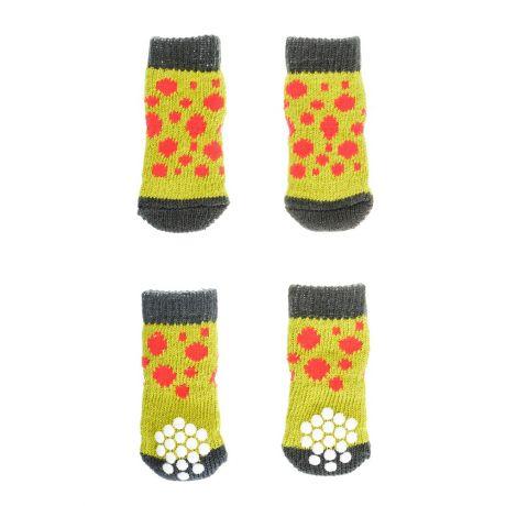 Купить Petmax носки зеленые с точками размер XL – цена 299 руб. в интернет-магазине 4lapy.ru с отзывами и фото. Обувь и носочки WAN TALK