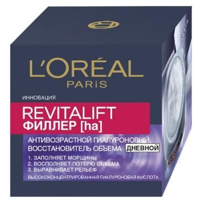 LOREAL DERMO-EXPERTISE REVITALIFT Филлер дневной 50мл