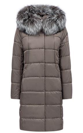 Купить Пуховик с отделкой мехом лисы – цена 20590 руб. в интернет-магазине snowqueen.ru с отзывами и фото. Женские пуховики с капюшоном LAURA BIANCA