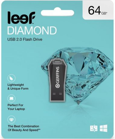 USB флешка Leef Diamond 64Gb USB 2.0
