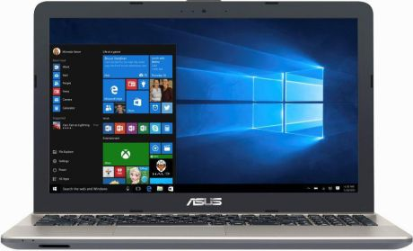 "Ноутбук ASUS R541NA-GQ418T (Intel Celeron N3350 1100 Mhz/15.6""/1366x768/4096Mb/500Gb HDD/DVD нет/Intel® HD Graphics 500/WIFI/Windows 10 Home)"