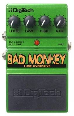 Digitech Dbm Bad Monkey Tube Overdrive