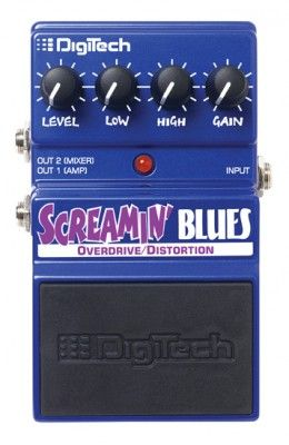 Digitech Dsb Screamin' Blues Overdrive/distortion
