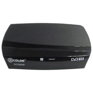 Ресивер DVB-T2 D-COLOR DC702HD