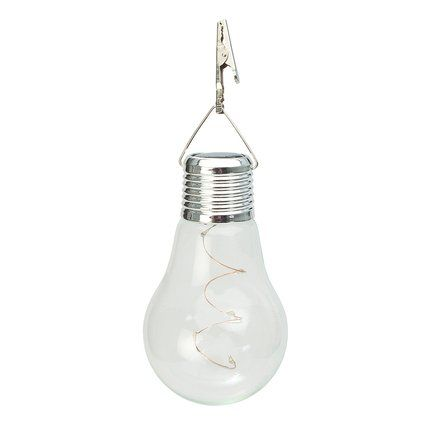Gardman Фонарь уличный Solar Hanging Lightbulb, 7.8х13.2 см L23001 Gardman