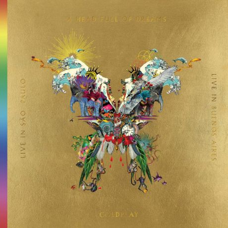 Coldplay Coldplay - Live In Buenos Aires / Live In Sao Paulo / A Head Full Of Dreams (3 Lp+2 Dvd)
