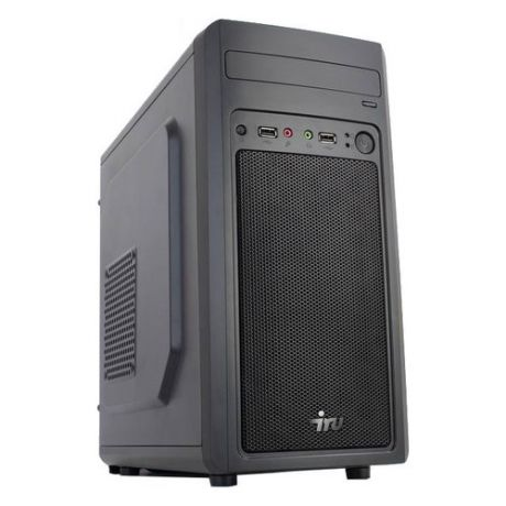 Компьютер IRU Office 110, Intel Celeron J3355, DDR3 4Гб, 120Гб(SSD), Intel HD Graphics 500, Free DOS, черный [1089258]