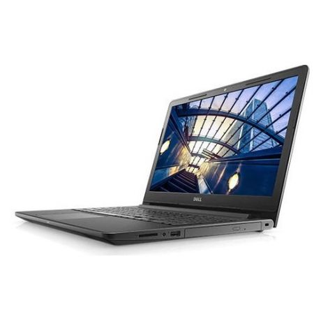 "Ноутбук DELL Vostro 3578, 15.6"", Intel Core i3 7020U 2.3ГГц, 4Гб, 1000Гб, AMD Radeon 520 - 2048 Мб, DVD-RW, Windows 10 Home, 3578-7110, черный"