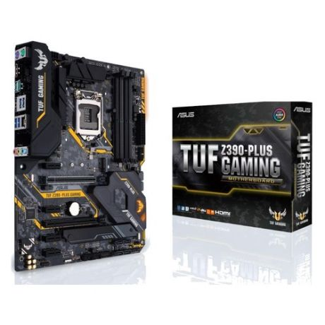 Материнская плата ASUS TUF Z390-PLUS GAMING, LGA 1151v2, Intel Z390, ATX, Ret
