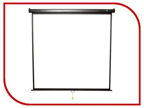 Экран Sakura Cinema 150x150cm Wallscreen 1:1 Black SCPSW-150x150BLCK