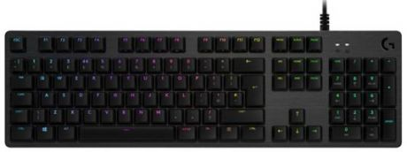 Logitech Gaming Keyboard G512 Carbon Mechanical Romer-G Tactile